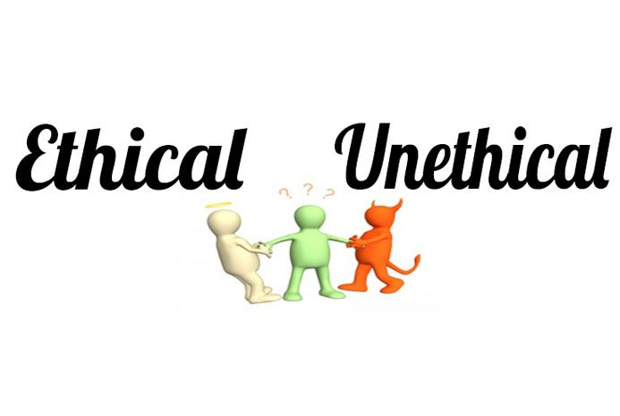 Unethical behaviour